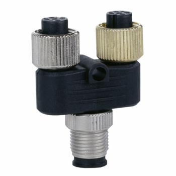 Y-konektor - 2 x M8 konektora do 1 x M12 konektor - za FTB I/O razdelnik