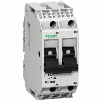 TeSys GB2 - termomagnetni zaštitni prekidač - 2P - 4 A - Id = 50 A