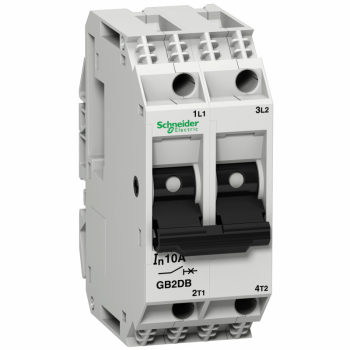 TeSys GB2 - termomagnetni zaštitni prekidač - 2P - 10 A - Id = 138 A