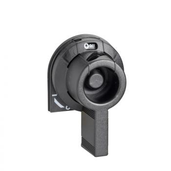 prednja, bočna zakretna ručica GS1 - 32 A - crna