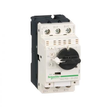 TeSys GV2 - motorni prekidač - termomagnetna zaštita - 20…25 A