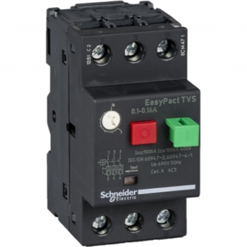 motorni prekidač GZ1 - 3P 3d - 0.1..0.16A - termomagnetna zaštitna jedinica