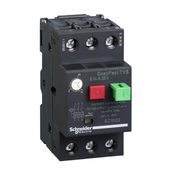 motorni prekidač GZ1 - 3P 3d - 0.16..0.25A - termomagnetna zaštitna jedinica