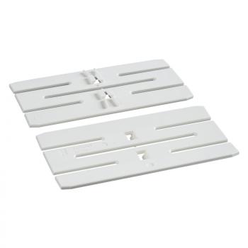 OptiLine 45 - element za spajanje dva parapeta - PC/ABS - beli