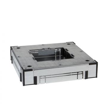 OptiLine 45 - čelična podna kutija za ugradnju u beton - Š200 mm - bez modula