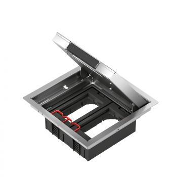 OptiLine 45 - Altira podna metalna kutija - 4 modula