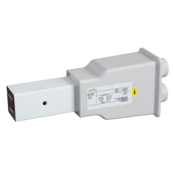 Canalis - napojna jedinica za KBB - 40A - leva montaža - bela - metalna