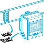 Canalis - 10 uređaja za blokadu otcepa i otcepne kutije - KNB - beli