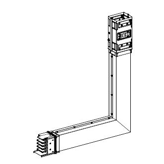 Canalis - lakat - 1000 A - pravljeno po narudžbini - montaža naviše