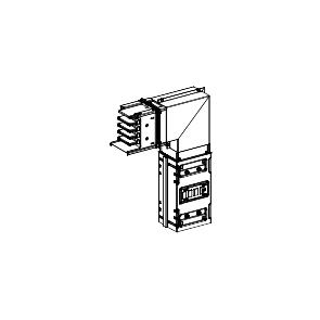 Canalis - lakat - 1000 A - montaža naniže