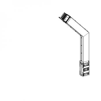 Canalis - lakat - 1000 A - pravljeno po narudžbini - montaža naniže