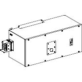 Canalis - napojna jedinica NSX630 N H ili L kriva - 630 A - desna montaža