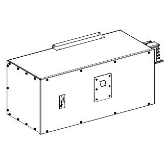Canalis - napojna jed.sa NSX630 N H ili L kriva-630 A -montaža sleva ili zdesna