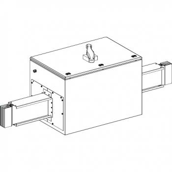 Canalis - Al deo sa zaštitom šinskog razvoda sa Compact NS1250N -1250A - 3L+N+PE