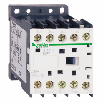 TeSys K kontaktor - 3P(3 NO) - AC-3 - <= 440 V 12 A - 110 V AC kalem