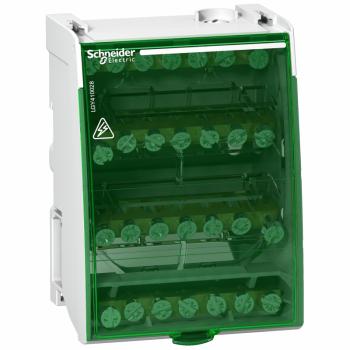 Linergy DS - vijčani razvodni blok 4P - 100A - 28 izvoda