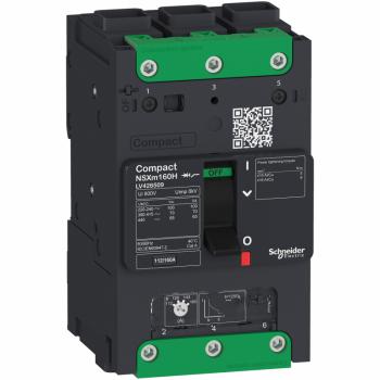 prekidač Compact NSXm 100A 3P 36kA na 380/415V(IEC), EverLink stopica