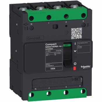 Compact NSXm-rastavljač- 160A 4P - 2.13(Icm) 1.5(Icw) - kablovska stopica