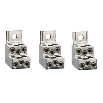 3 priključka - 6 kablova - 1.5..35 mm²
