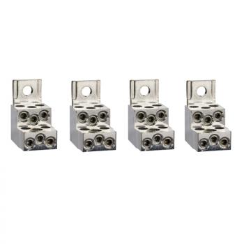4 priključka - 6 kablova - 1.5..35 mm²