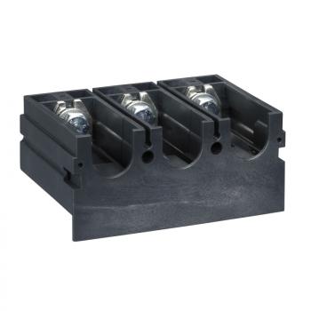 blok sa proširivačima priključaka - 45 mm razmak - 3P - za NS 100..250