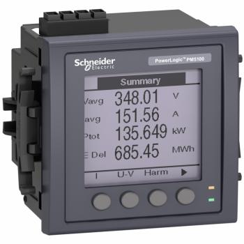 PM5100 multimetar bez Modbus-s - do 15. harmonika - 1DO 33 alarma - ugradni