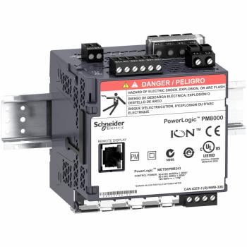 PowerLogic PM8000 - PM8243 multimetar - montaža na DIN šinu