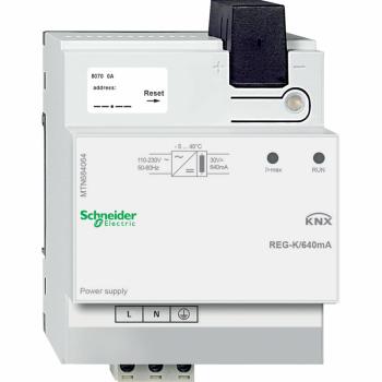 KNX izvor napajanja REG-K/640 mA, svetlosivi
