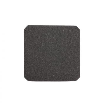 crna izlazna rešetka prečnik izreza 108mm spolj. dim 124x124mm IP20
