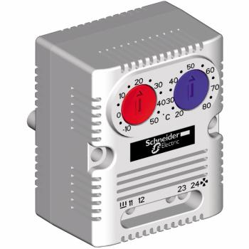 ClimaSys CC - dupli termostat 250V - opseg 0…60°C - 1NO/NC - °C