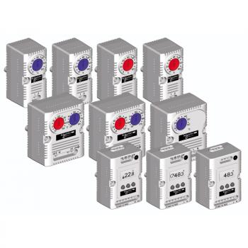 ClimaSys CC - termostat 250V - opseg +5…60°C - 1 NO/NC - °C