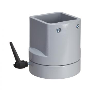 element vertikalne rotacije, kvadratni 80 mm RAL 7040. za S3CM HMI ormane