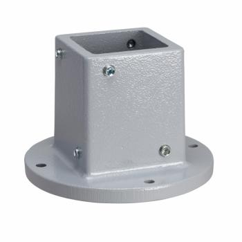 fiksna osnova, kvadratni 80 mm, za SPACIAL S3CM HMI ormane RAL 7040.