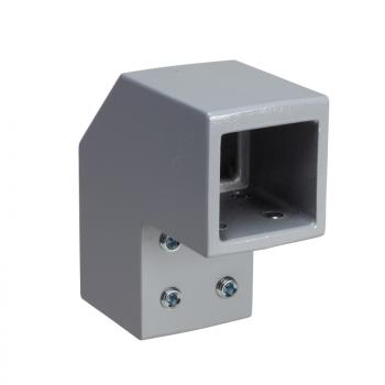 fiksni držač, kvadratni 80 mm RAL 7040. za SPACIAL S3CM HMI ormane