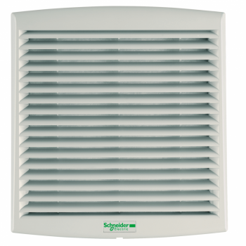 ClimaSys ventilator IP54, 38m3/h, 24V DC, sa izlaznom rešetkom i filterom G2