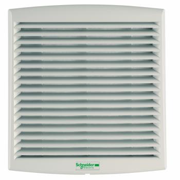 ClimaSys ventilator IP54, 38m3/h, 48V DC, sa izlaznom rešetkom i filterom G2