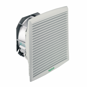 ClimaSys ventilator IP54, 850m3/h, 230V, sa izlaznom rešetkom i filterom G2