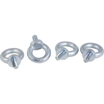 set od 4 Spacial SF M12 ušice za podizanje - galvanizovani čelik