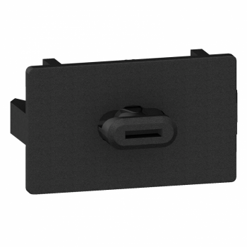 plastični nosač kablovskih kanalica - crni - pakovanje: 20 kom.