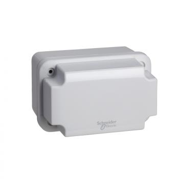 ABS kutija IP66 IK07 RAL7035 U:V105Š65D85 S:H117Š74D94 neprovidni poklopac V40