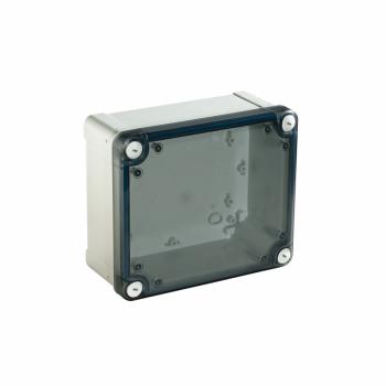 ABS kutija IP66 IK07 RAL7035 U:V125Š80D65 S:V138W93D72 providan poklopac V20