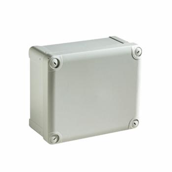 ABS kutija IP66 IK07 RAL7035 U:V175Š150D100 S:H193Š164D105 neprovidni pokl. V40