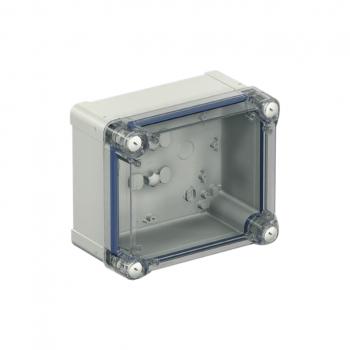 ABS kutija IP66 IK07 RAL7035 U:V275Š225D120 S:H291Š241D128 providan poklopac V60
