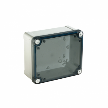 ABS kutija IP66 IK07 RAL7035 U:V275Š225D120 S:H291Š241D128 providan poklopac V20