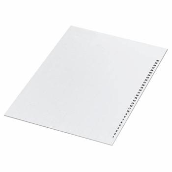 A4 strana sa oznakama sa 488 znakova, 15x4mm, za NSYTRABCV kablovske ozn., bele