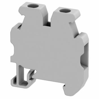 Linergy mini stand. redna stezaljka - 2.5mm² 24A jednostruka 1x1 vijčana - siva