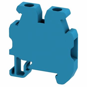 Linergy mini standardna stezaljka - 4mm² 32A jednostruka 1x1 vijčana - crna