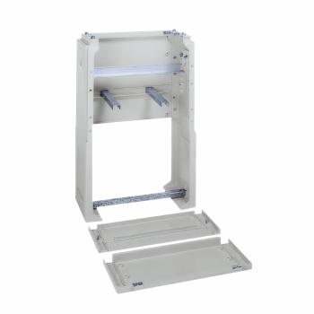 poliestersko podnožje za DIN slobodnostojeći Š1115 mm - IP43 - siva RAL 7035