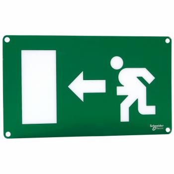 Quick Signal - znak za izlaz jednostrani - čovek trči nalevo
