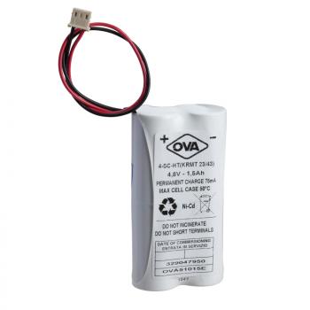 baterija - 4.8 V - 1.5 Ah - Ni-Cd